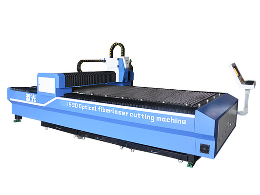 China Optic Stainless Fiber Laser Cutting Machine Metal Sheet Application supplier