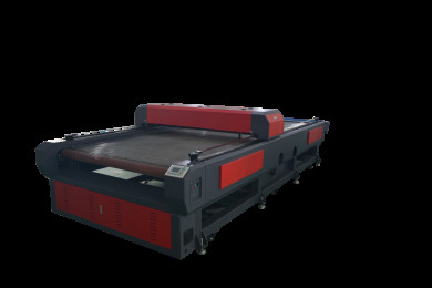 High Efficiency Fabric Laser Cutting Machine Large Production Capacity