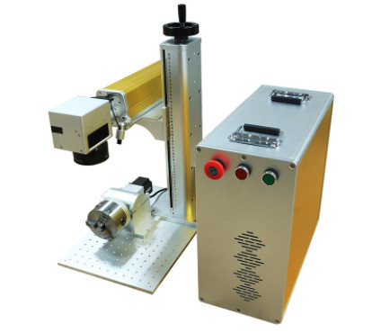 Industrial Portable Fiber Laser Marking Machine 1060nm Wavelength